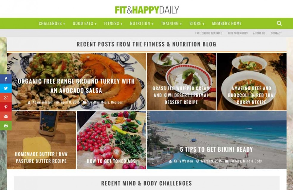 Fitness & Nutrition Blog